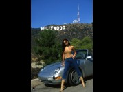 YASMYNE FITGERALD - HARD SET - HOLLYWOOD + 2 of MELODY KORD video