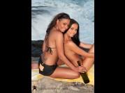 ANETTA KEYS & DIVINITY LOVE - HARD SET - SUNSET BEACH of NESSA DEVIL video