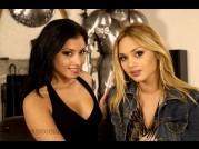 ANETTA KEYS & LENKA G - PHOTO SET DP DILDO of DIVINITY LOVE video