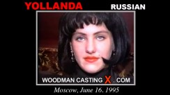 Download Yollanda casting video files. Pierre Woodman undress Yollanda, a Russian girl.
