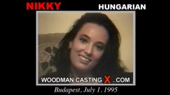 Access Nikky casting in streaming. Pierre Woodman undress Nikky, a Hungarian girl.