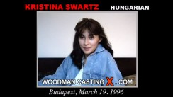 Watch our casting video of Kristina Swartz. Erotic meeting between Pierre Woodman and Kristina Swartz, a Hungarian girl.