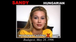 Watch Sandy first XXX video. Pierre Woodman undress Sandy, a Hungarian girl.