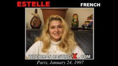 Watch Estelle first XXX video. Pierre Woodman undress Estelle, a French girl.