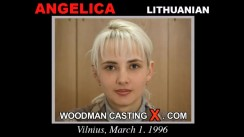 Watch Angelica first XXX video. Pierre Woodman undress Angelica, a Lithuanian girl.