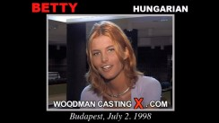 Download Betty Gabor casting video files. Pierre Woodman undress Betty Gabor, a Hungarian girl.