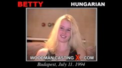 Watch Betty first XXX video. Pierre Woodman undress Betty, a Hungarian girl.