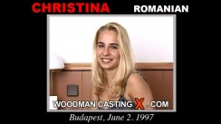 Watch Christina first XXX video. A Romanian girl, Christina will have sex with Pierre Woodman.