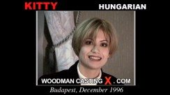 Watch Kitty first XXX video. Pierre Woodman undress Kitty, a Hungarian girl.
