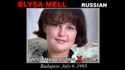 Download Elysa Mell casting video files. Pierre Woodman undress Elysa Mell, a Russian girl.