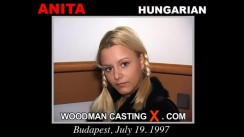 Watch our casting video of Anita. Pierre Woodman fuck Anita, Hungarian girl, in this video.