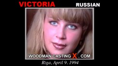 Look at Victoria getting her porn audition. Erotic meeting between Pierre Woodman and Victoria, a Russian girl.