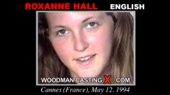 Look at Roxanne Hall getting her porn audition. Erotic meeting between Pierre Woodman and Roxanne Hall, a English girl.