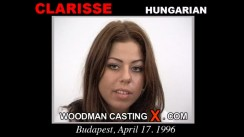 Access Clarisse casting in streaming. Pierre Woodman undress Clarisse, a Hungarian girl.