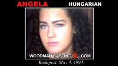 Download Angela casting video files. Pierre Woodman undress Angela, a Hungarian girl.