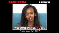Watch Bagheera first XXX video. A French girl, Bagheera will have sex with Pierre Woodman.