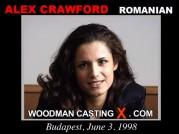 Casting of ALEX CRAWFORD video