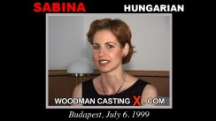 Casting of SABINA video