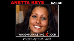 Casting of ANETTA KEYS video