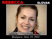 Casting of REBECCA video