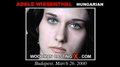 Casting of ADELE WIESENTHAL video
