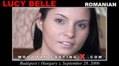 Access Lucy Belle casting in streaming. Pierre Woodman undress Lucy Belle, a Romanian girl.