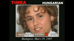 Check out this video of Timea having an audition. Erotic meeting between Pierre Woodman and Timea, a Hungarian girl.