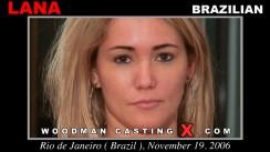 Download Lana casting video files. Pierre Woodman undress Lana, a Brazilian girl.