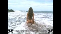 Rita Faltoyano - hard - Costa Rica beach + 3 boys