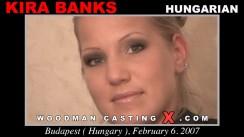 Look at Kira Banks getting her porn audition. Erotic meeting between Pierre Woodman and Kira Banks, a Hungarian girl.