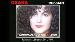 Watch our casting video of Oxana. Erotic meeting between Pierre Woodman and Oxana, a Russian girl.