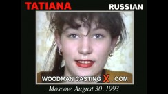 Look at Tatiana getting her porn audition. Erotic meeting between Pierre Woodman and Tatiana, a Russian girl.