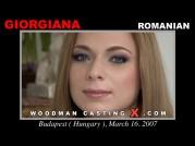 Casting of GIORGIANA video
