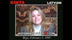 Check out this video of Ginta having an audition. Erotic meeting between Pierre Woodman and Ginta, a Latvian girl.