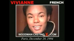 Look at Vivianne getting her porn audition. Erotic meeting between Pierre Woodman and Vivianne, a French girl.