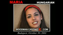 Access Maria casting in streaming. Pierre Woodman undress Maria, a Hungarian girl.