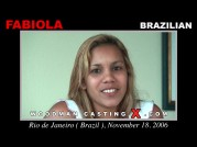 See the audition of Fabiola