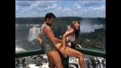 Jennifer stone - hard - iguacu falls + 1 boy