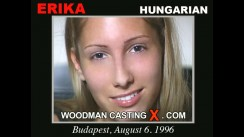 Look at Erika getting her porn audition. Erotic meeting between Pierre Woodman and Erika, a Hungarian girl.