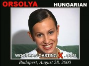 See the audition of Orsolya
