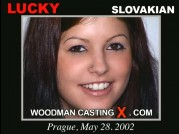 Casting of LUCKY video