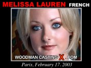 See the audition of Melissa Lauren