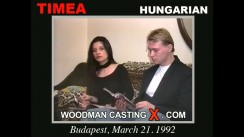 Watch our casting video of Timea And Bob T. Erotic meeting between Pierre Woodman and Timea And Bob T, a Hungarian girl.