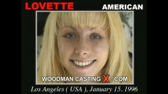 Watch our casting video of Lovette. Erotic meeting between Pierre Woodman and Lovette, a American girl.