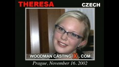 Look at Theresa getting her porn audition. Erotic meeting between Pierre Woodman and Theresa, a Czech girl.