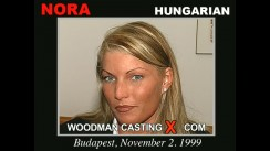 Look at Nora getting her porn audition. Erotic meeting between Pierre Woodman and Nora, a Hungarian girl.