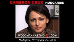 Casting of CAMERON CRUZ video