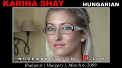 Watch Karina Shay first XXX video. A Hungarian girl, Karina Shay will have sex with Pierre Woodman.