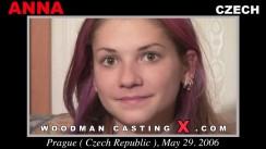 Download Anna casting video files. Pierre Woodman undress Anna, a Czech girl.