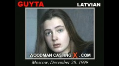 Look at Guyta getting her porn audition. Erotic meeting between Pierre Woodman and Guyta, a Latvian girl.
